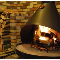 福津店-キャストアイアン型 大型暖炉