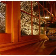 福津店-窓から見える植栽