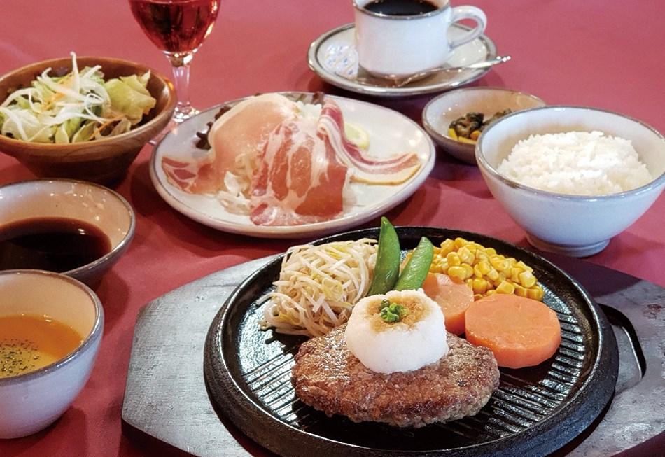 レストランハイポー 和風ハンバーグコース