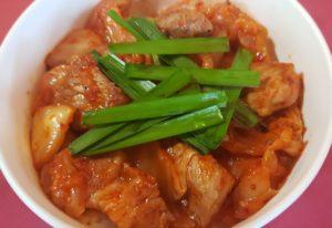 レストランハイポー宗像店のテイクアウトミニ豚丼